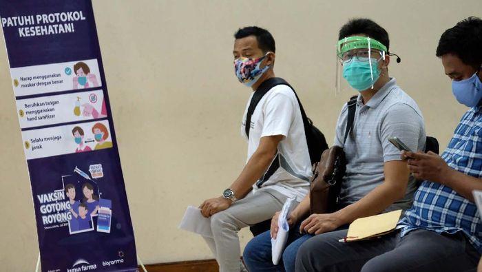 Kegiatan vaksinasi Gotong Royong untuk pelaku industri Fintech digelar di Jakarta. Vaksinasi ini menyasar ribuan vaksinator termasuk pengurus AFPI.