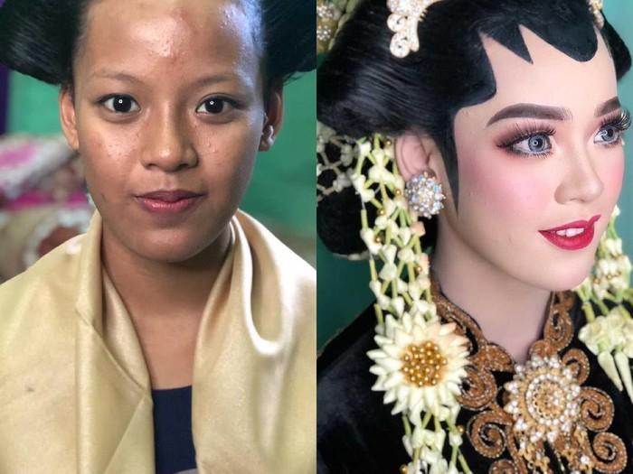 Viral pengantin yang viral di TikTok.