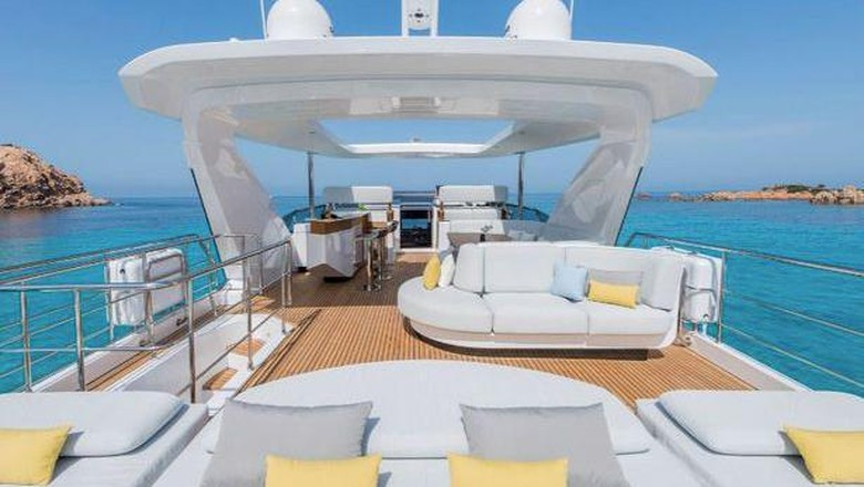 Yacht mewah Cristiano Ronaldo