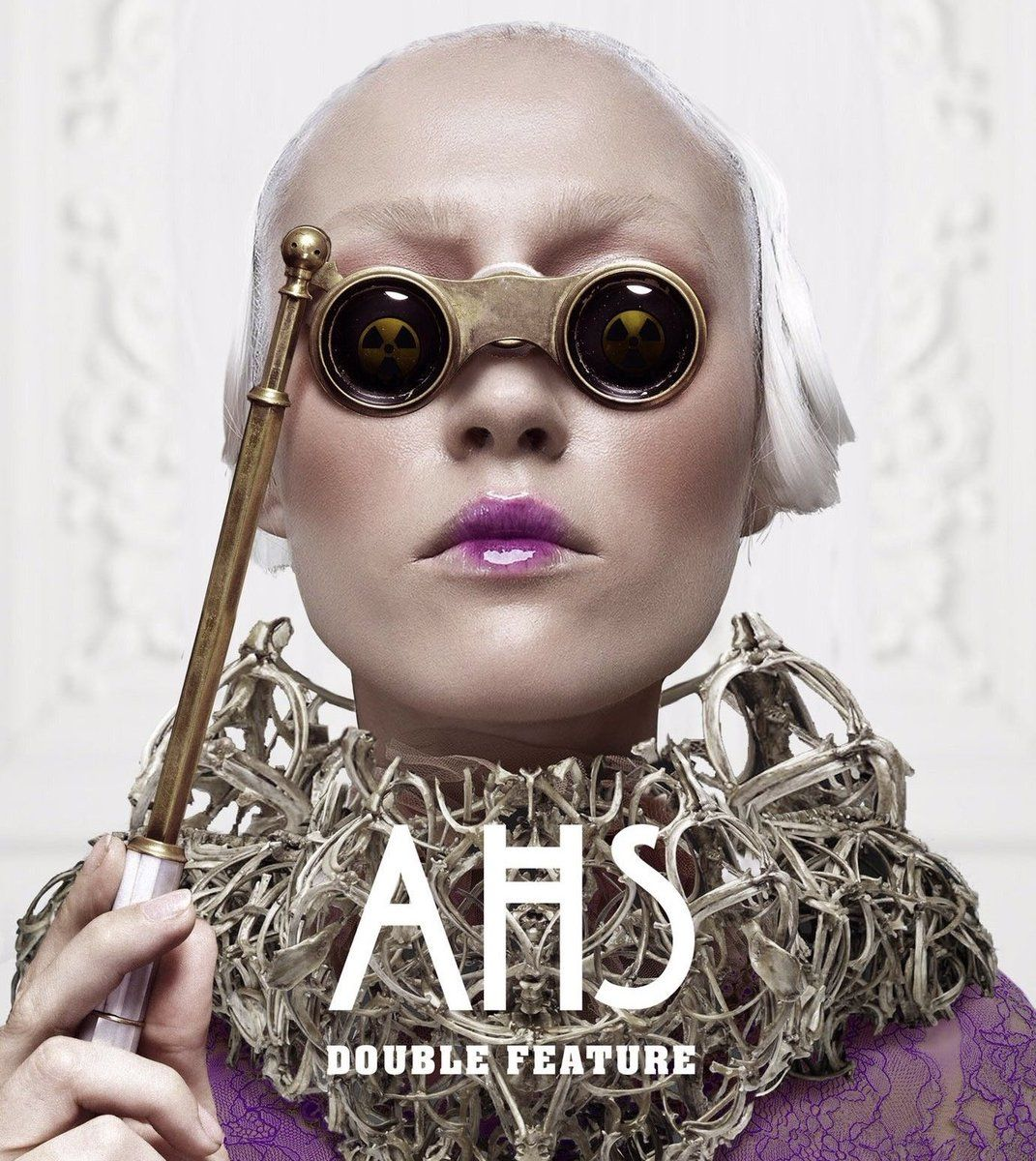 Poster promosi American Horror Story 10: Double Feature