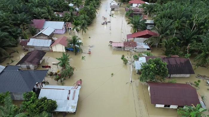 Banjir terjadi di Aceh (dok. BPBA)