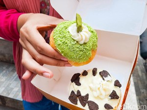 Donat Bahagia: Di Sini Bisa Pesta Donat Aneka Rasa Kekinian yang Viral di Bandung