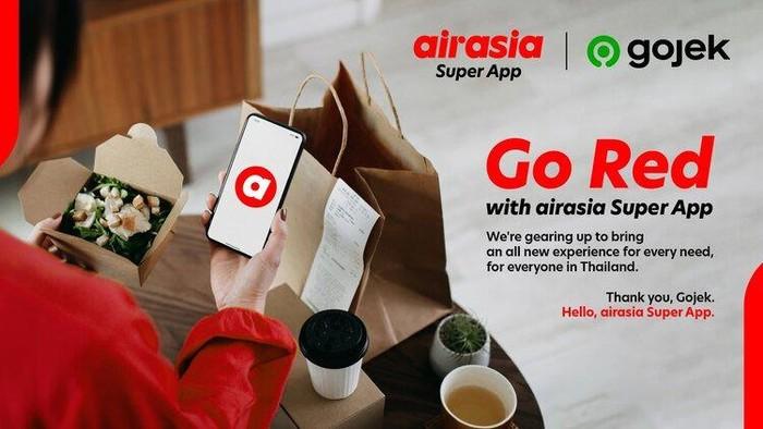 Gojek dan Airasia kawin di Thailand