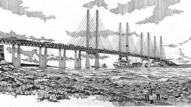 Jembatan antar pulau Inggris