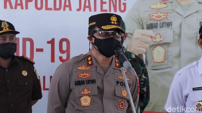 Kapolda Jawa Tengah Irjen Ahmad Luthfi di Boyolali, Rabu (7/7/2021).