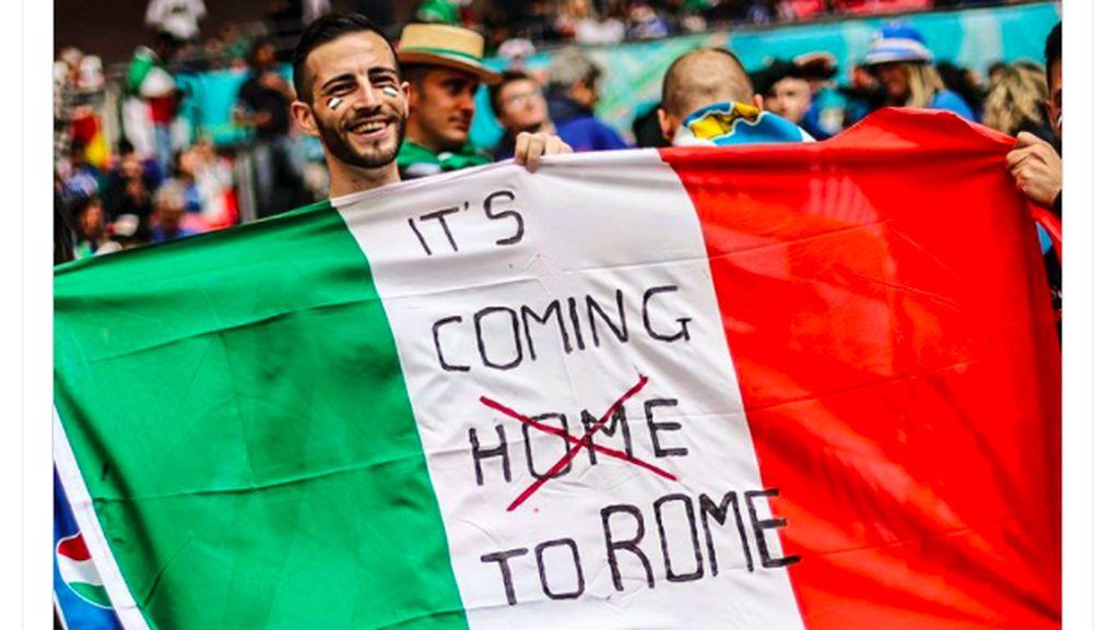 Italia Tekuk Spanyol, Forza Azzurri Lantang Berkumandang