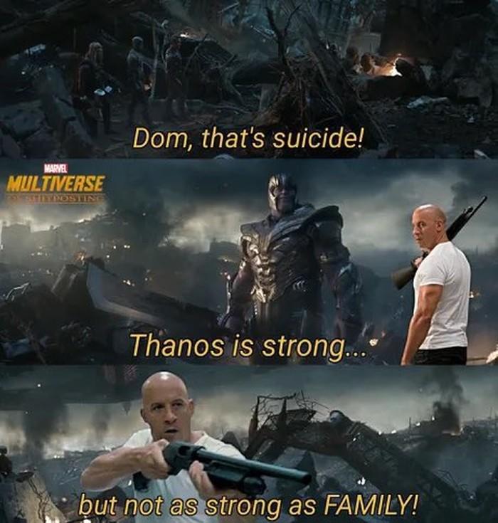 Meme Vin Diesel (Dominic Toretto) beredar di Twitter
