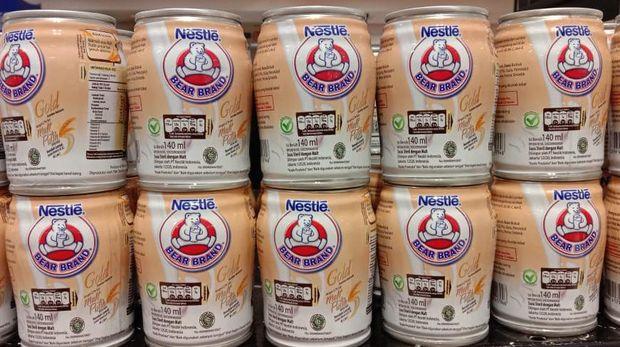 Stok 'Susu Beruang' Ludes di Supermarket