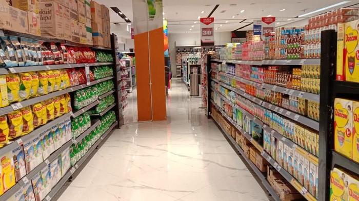 Stok Susu Beruang Ludes di Supermarket