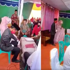 Most Pop: Viral Video Istri Ditalak Suami Usai Ijab Kabul, Begini Faktanya