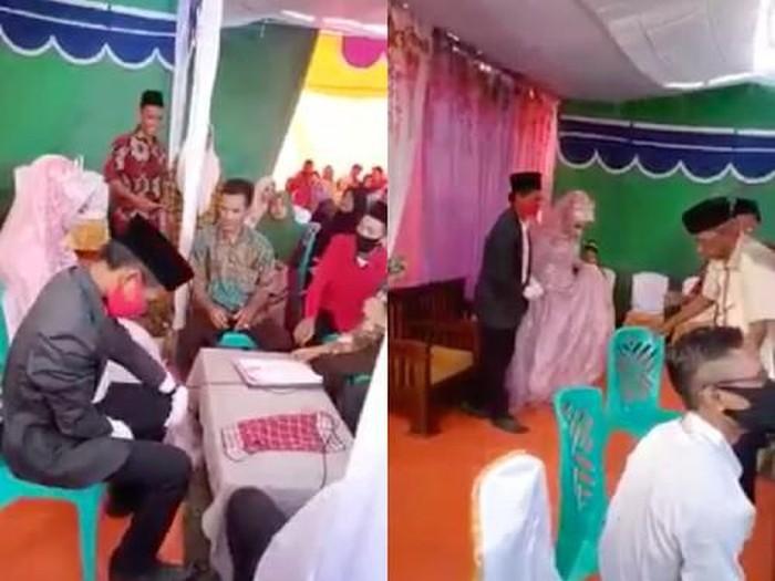 Suami talak istri setelah akad nikah