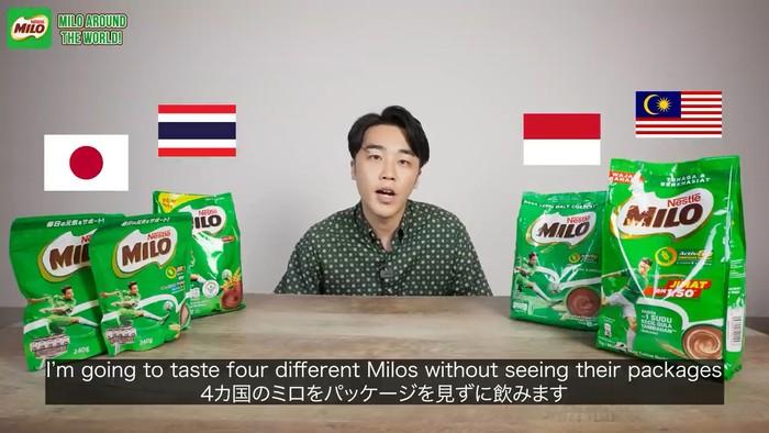 YouTuber Jepang Ini Cicip Milo dari 4 NegaraTermasuk Indonesia, Ini Komentarnya