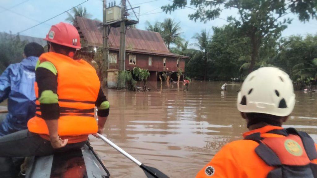 3 Kabupaten di Sulsel Dilanda Banjir, 1 Warga Meninggal