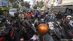Terhalang Penyekatan, Jalan Margonda Arah Jakarta Padat Kendaraan