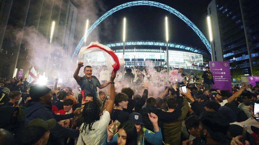 Terjadi Lonjakan Covid-19 di Inggris Selama Euro 2020