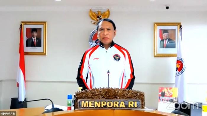 Menpora Zainudin Amali mengukuhkan atlet-atlet yang siap mewakili Indonesia dalam ajang Olimpiade Tokyo 2020.