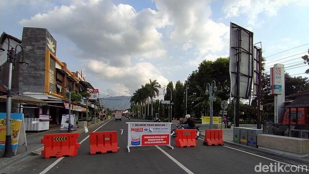 Catat Lur! Jalan ke Candi Borobudur Ditutup 24 Jam Saat Akhir Pekan