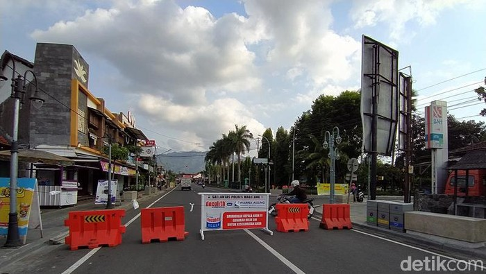 Penutupan akses menuju Candi Borobudur Magelang akan dilakukan selama 24 jam di akhir pekan