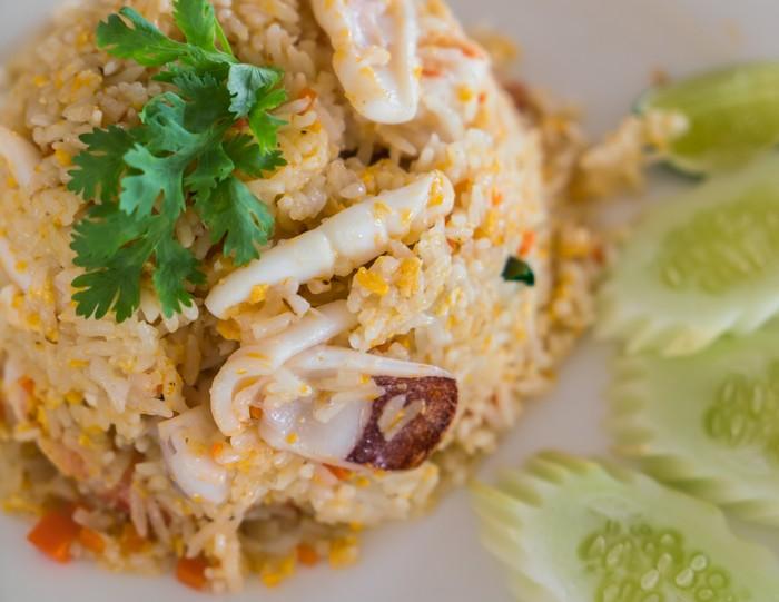 Resep Nasi Goreng Cumi ala Thai