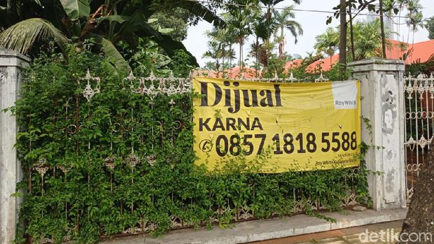 Rumah Tak Terawat Dijual di Menteng, Jakarta Pusat