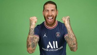 Duh, Sergio Ramos Langsung Cedera... Belum Bisa Debut di PSG