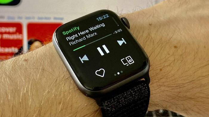 Spotify di Apple Watch