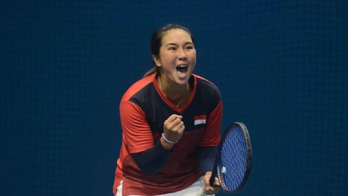 Aldila Sutjiadi membidik 7 turnamen tenis lain di AS usai menjuarai ITF World Tennis Tour W60.
