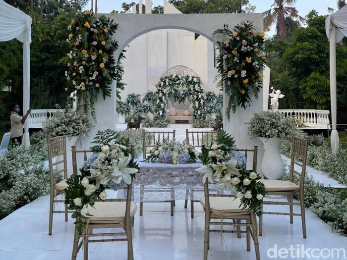 Dekorasi pernikahan ini viral di TikTok.