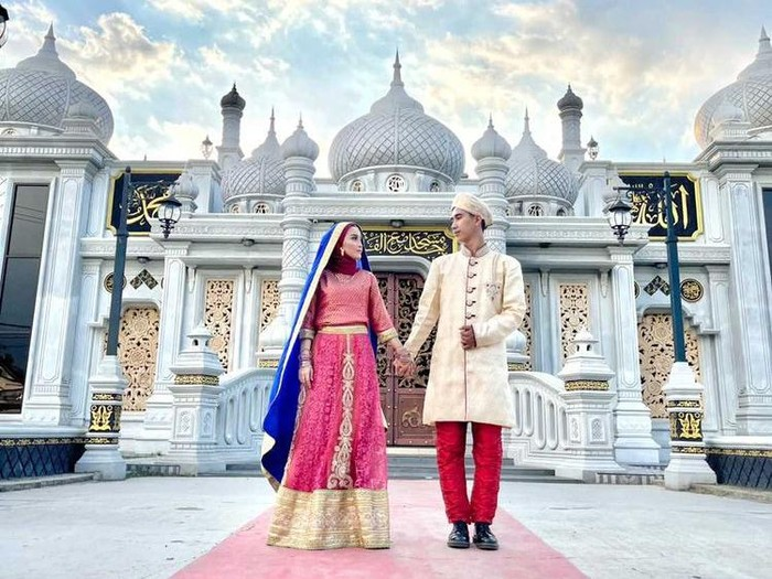 Batal nikah, Foto prewdding Mutiara Krishna dan Iqbal.