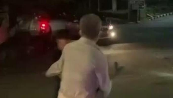 Geng motor brutal serang polisi yang hendak bubarkan balapan liar di Cilandak