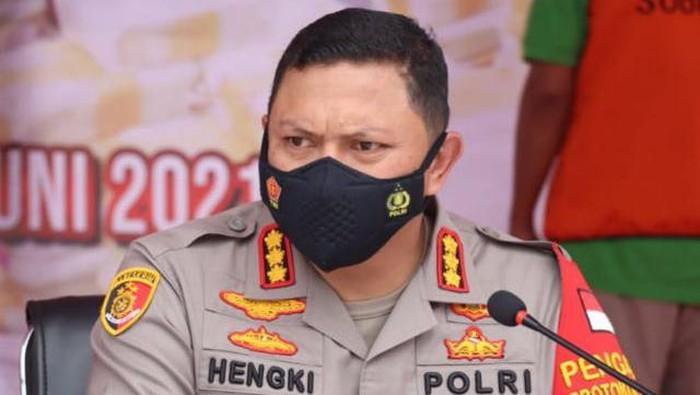 Kapolres Metro Jakarta Pusat Kombes Hengki Haryadi