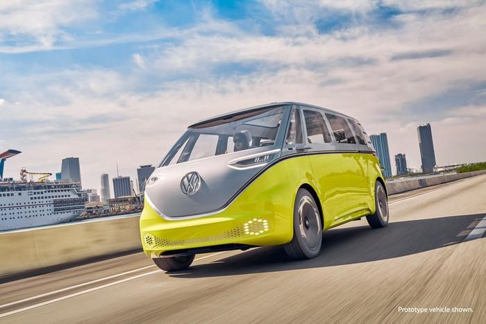 Konsep Mini Van Listrik VW ID.Buzz