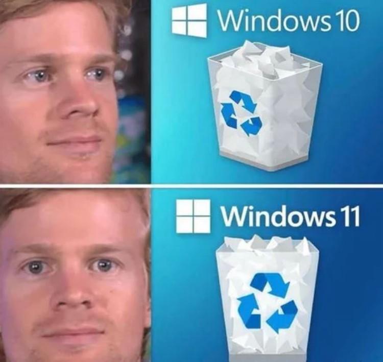 Meme Windows 11