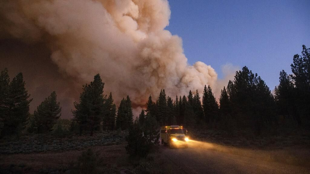 Kebakaran Hutan di California Kembali Membara