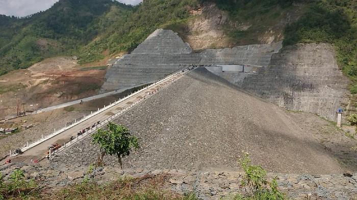 Pembangunan Proyek Nasional Bendungan Tugu di trenggalek