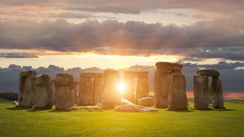 Stonehenge di Wiltshire, Inggris