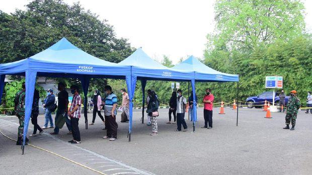 TNI AU menggelar serbuan vaksinasi COVID-19 di Jakarta dan daerah lainnya. (dok Dispenau)