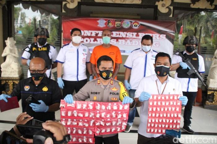 WN Jerman di Bali terancam hukuman mati akibat menyimpan kokain dan hasis ganja senilai Rp 1,5 miliar. (dok Istimewa)