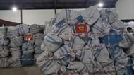 783 Bal Pakaian Bekas Ilegal Asal Malaysia Diserahkan ke Bea Cukai Teluk Nibung