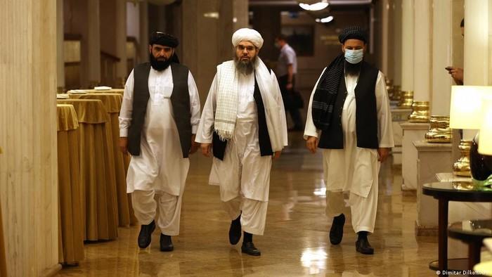 Di Rusia, Taliban Menyatakan Siap Berdamai Dengan Pemerintah Afganistan