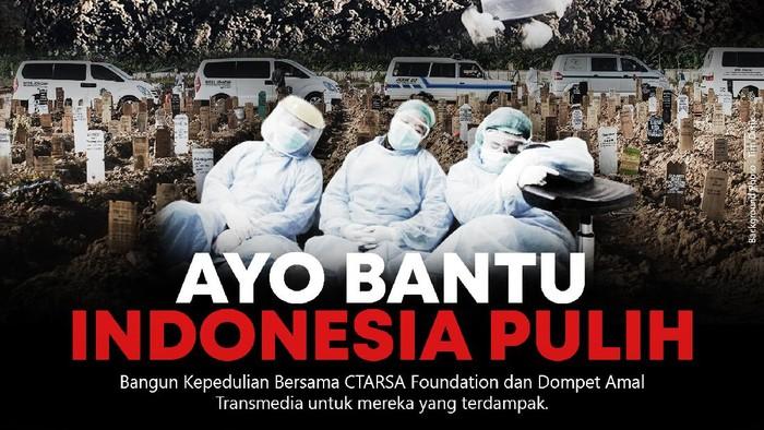 Donasi CT Arsa Foundation dan Dompet Amal Transmedia