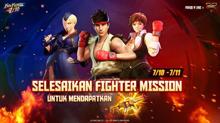 Event Khusus Free Fire dan Street Fighter V