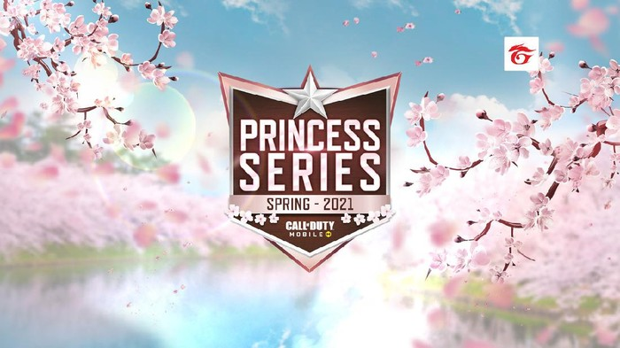Ladies Princess Series Garena Call of Duty: Mobile 2021