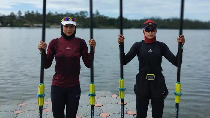 Melani Putri, calon guru andalan Indonesia di rowing Olimpiade Tokyo 2020.