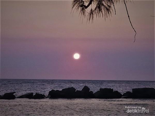 Menuju momen Sunset