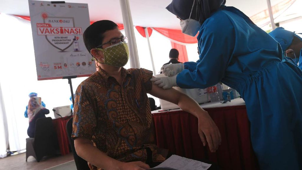 Bank DKI Ikut Geber Mobil Vaksin Keliling, Apa Hasilnya?