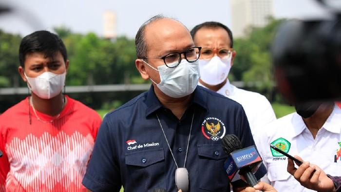 CDM Indonesia di Olimpiade 2020 Roeslan Rosani memberlakukan protokol ketat untuk para atlet sebelum ke Tokyo
