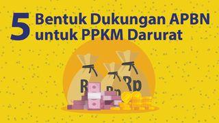 Kucuran APBN untuk Dukung PPKM Darurat, Bansos hingga Diskon Listrik