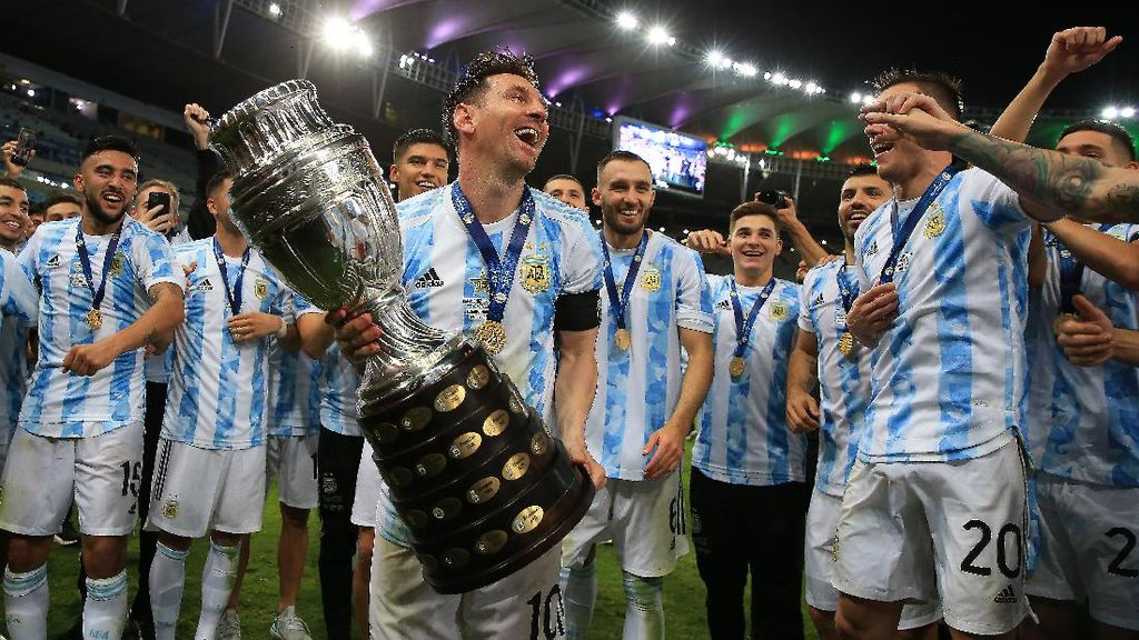 Argentina Juara Copa America 2021, Messi: Terima Kasih, Diego