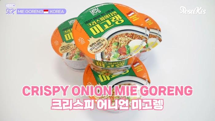 Mie Instan Rasa Mie Goreng Produksi Korea